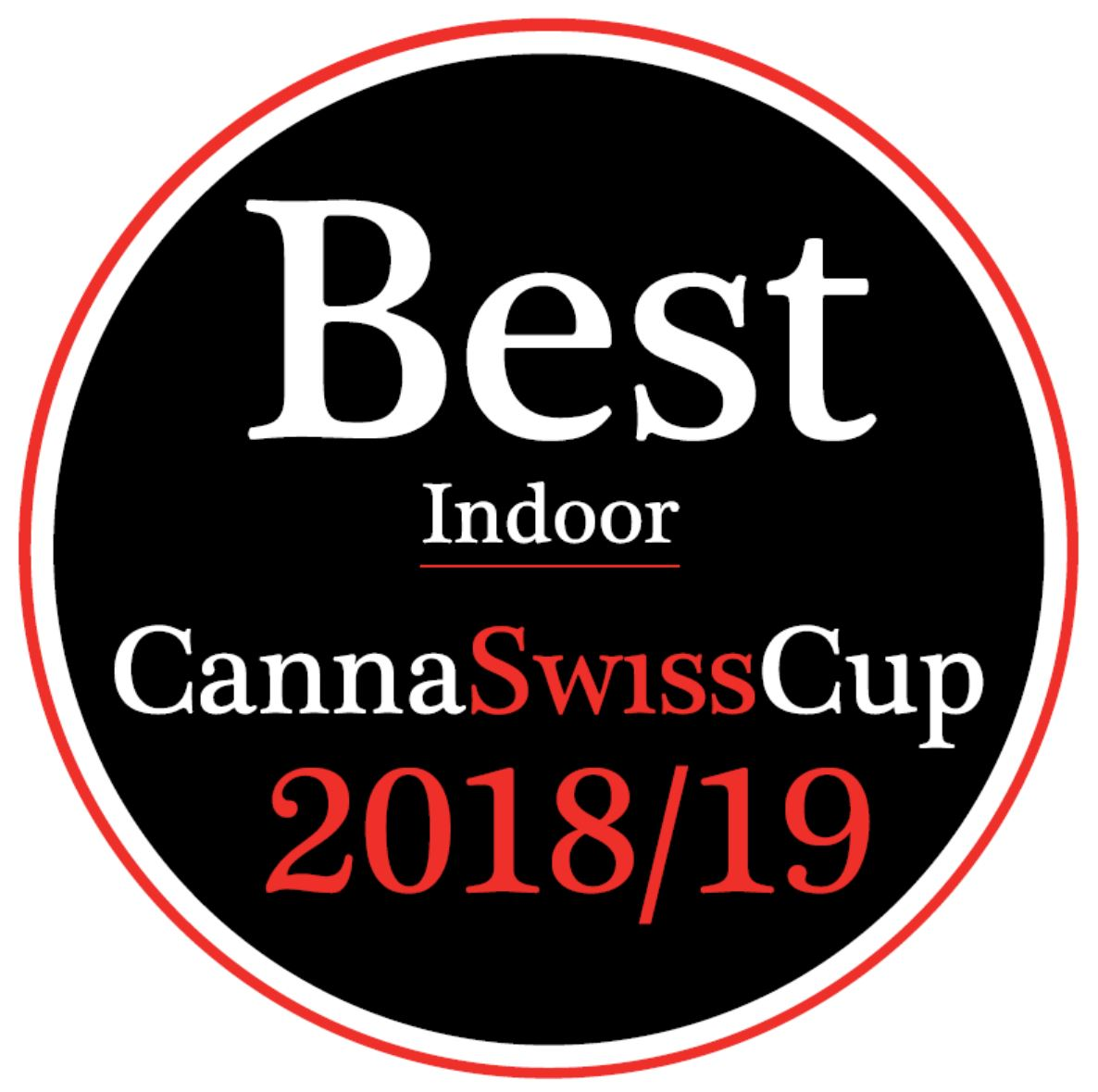 1ère place Indoor à la CannaSwissCup 2018-2019